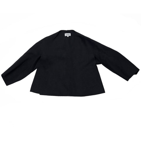 A Detacher Wool Felt Poncho