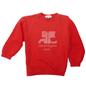 Reddish-Pink Courreges Sweatshirt