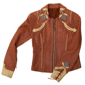 Shrunken Western Leather Jacket