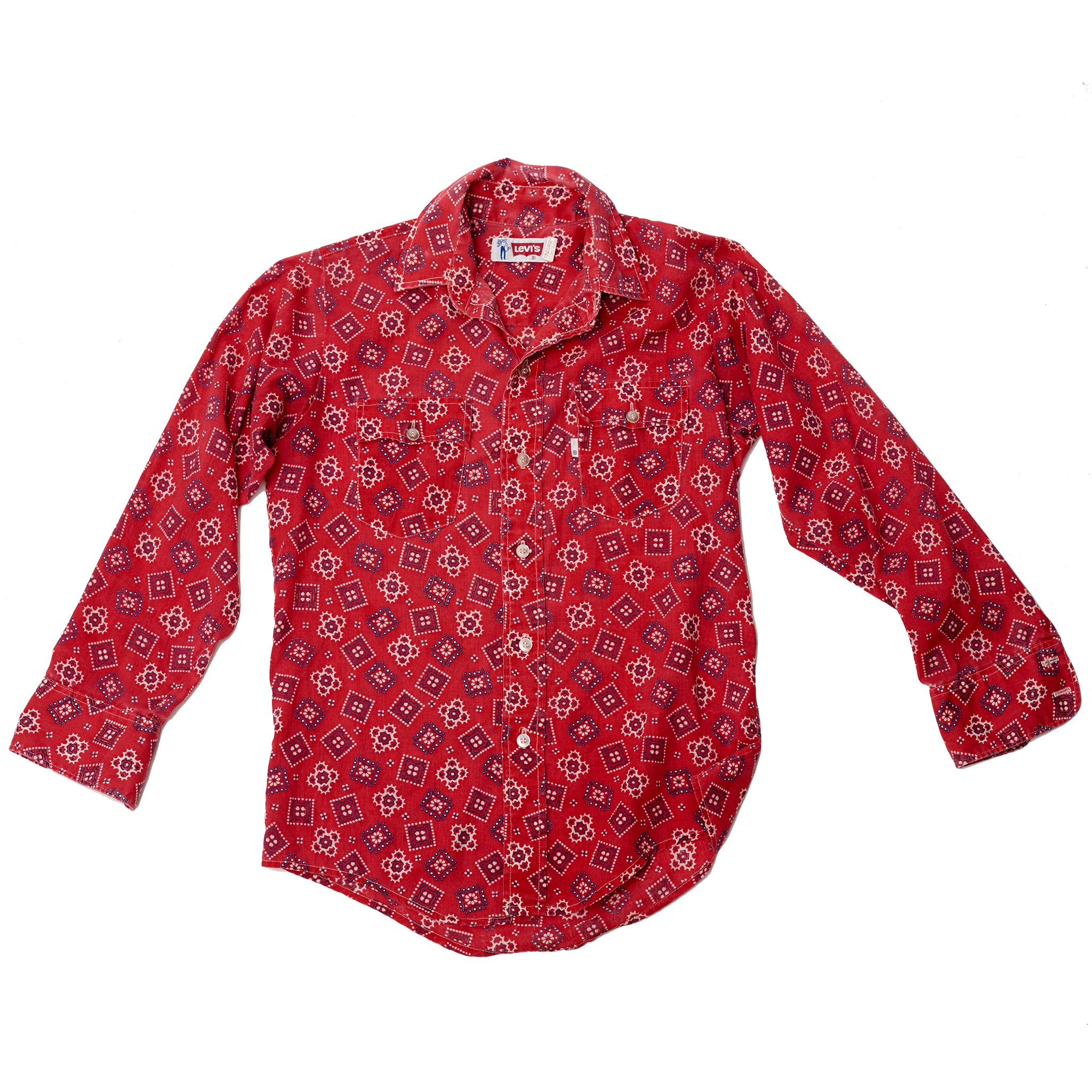 Levi's Red Bandana Button-down