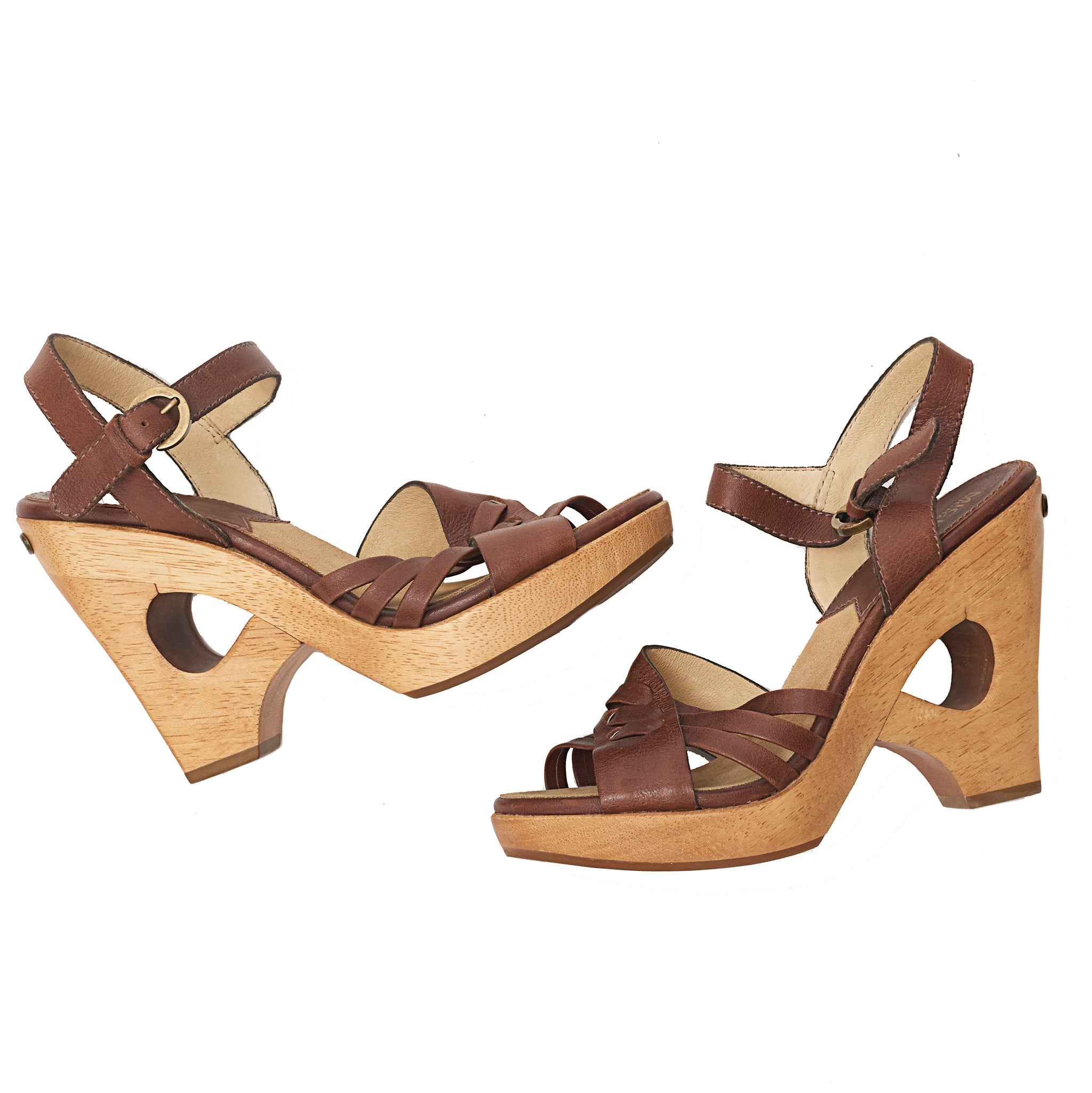 Michael Michael Kors Wooden-heeled Sandals