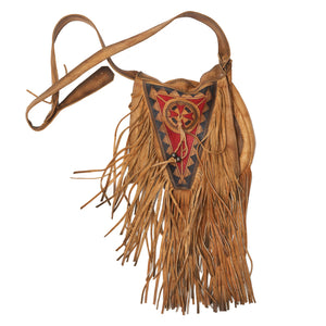 Handmade Native American Fringe Bag