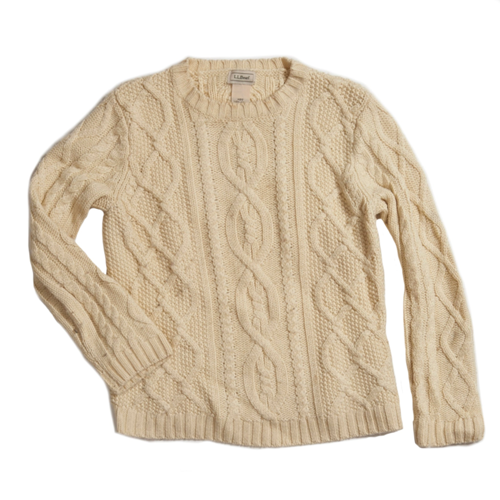 Kid's Classic L.L. Bean Fisherman Sweater