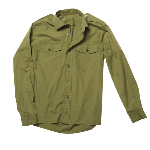 Green Army Shirt