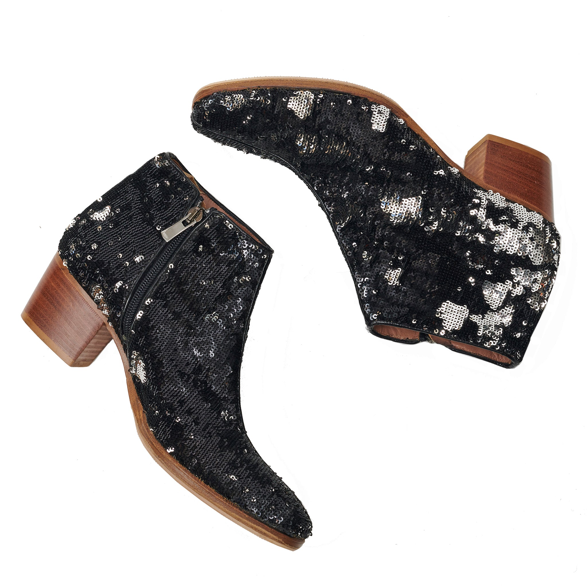 Rare Sigerson Morrison Sequin Booties