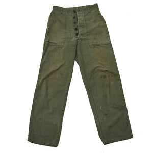 Perfectly-Worn Army Pants