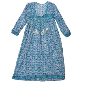 Long Cotton Hippie Dress