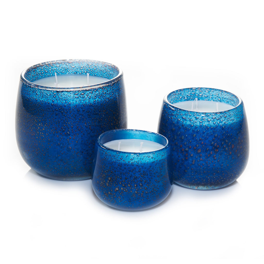 Medium 16oz Ballon Candle Navy - Fleur de Lagoon