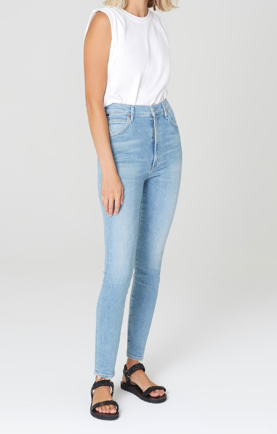 CITIZENS OF HUMANITY - CHRISSY HIGH RISE SKINNY FIT - ISLANDS