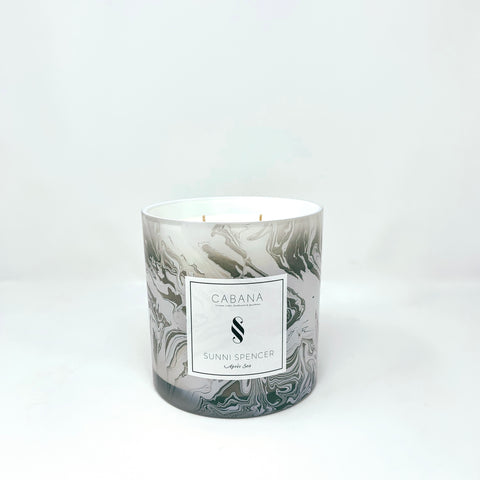 "Sunni Spencer ""Resort"" Grand Candle - Marble"