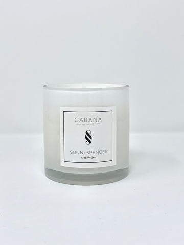 "Sunni Spencer ""Resort"" Classic Candle - Marble"