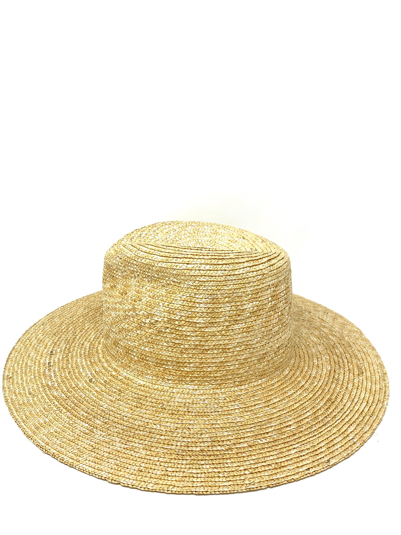 WYETH Straw Hat in Natural