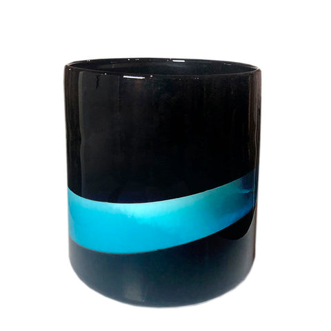 "Sunni Spencer ""Black Sand"" White Classic Candle"