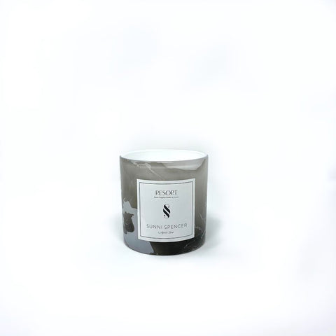 "Sunni Spencer ""Light"" White Classic Candle"