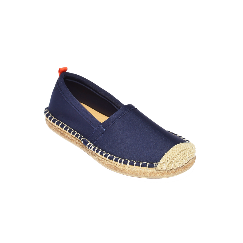 Kids Beachcomber Espadrille: Dark Navy