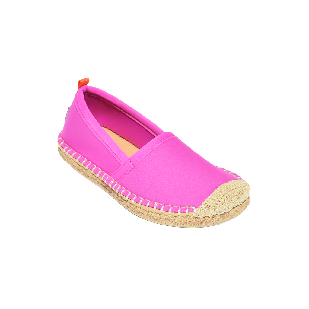Kids Beachcomber Espadrille: Hot Pink