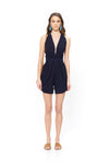 Mya Jumpsuit - Black Tiger - Poupette St Barth