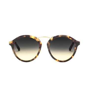 """Vega"" Walnut Sunglasses"