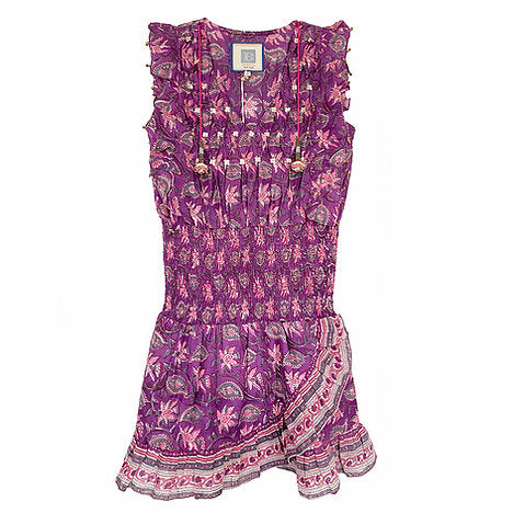 ALICIA BELL - LITTLE BELL NELLIE DRESS - PINK 12m-12y