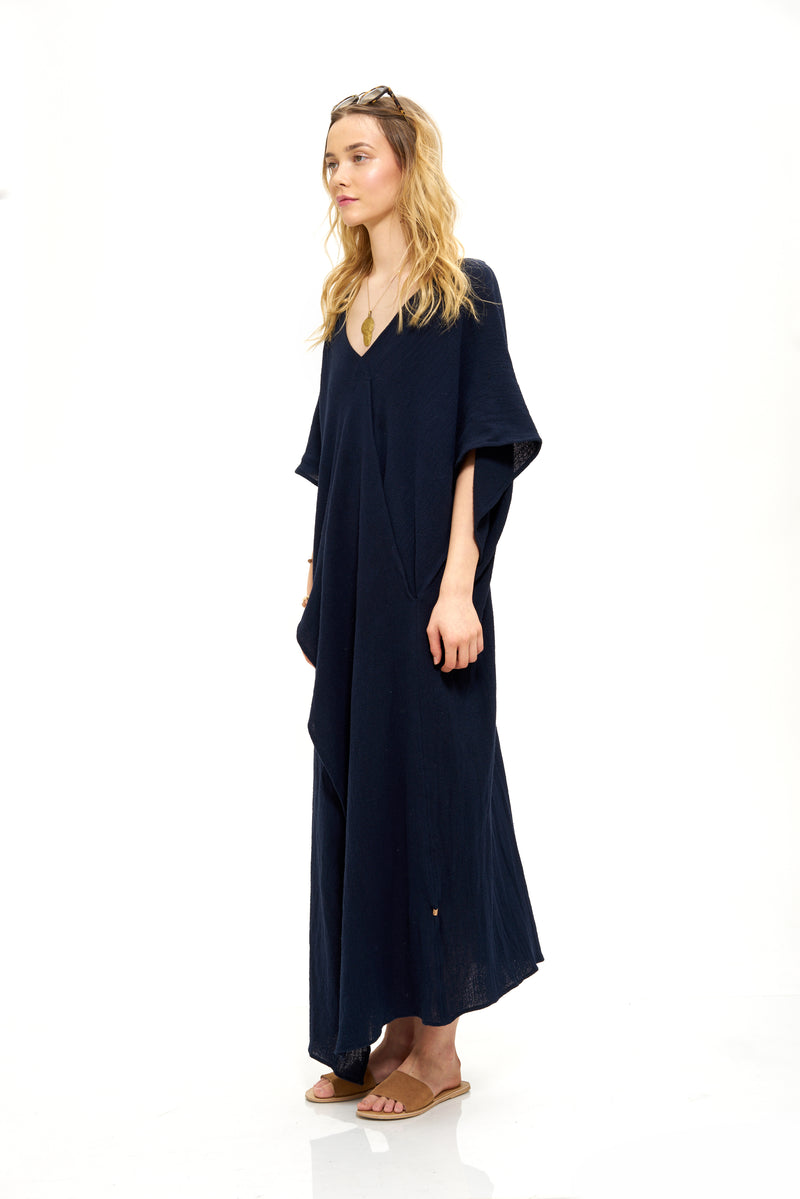 """Winkil"" Crossed Kaftan"