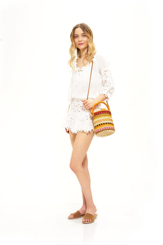 """Mariposa"" Beach Tunic"
