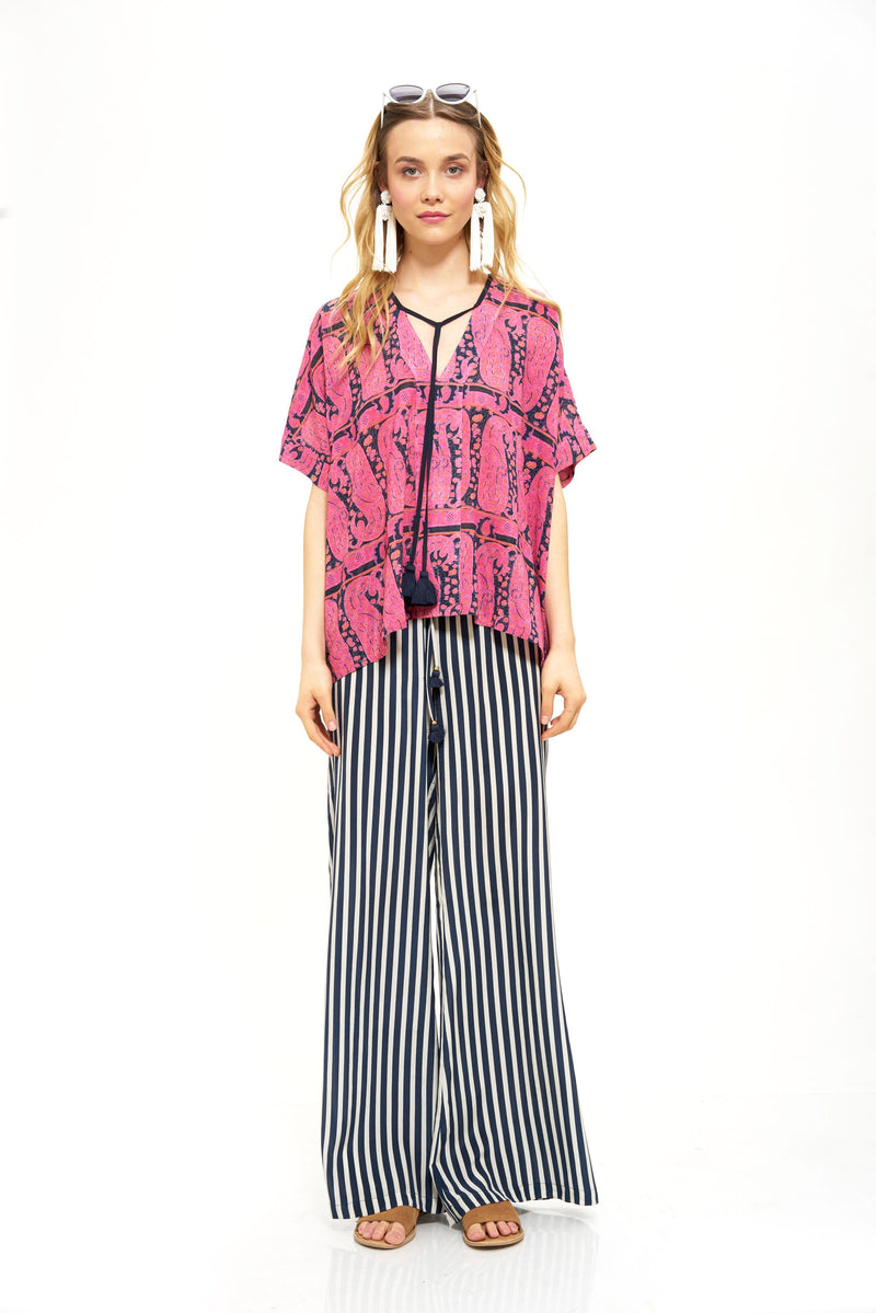 "Figue ""Simone"" Silk Pant"