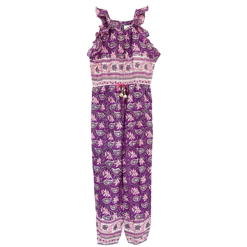 ALICIA BELL - LITTLE BELL RILEY JUMPSUIT - PINK 12m-12y