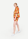 WHIT NY Rocky Short in Hermosa Floral Red/Yellow