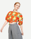 Whit Ny Tilden Top in Hermosa Floral Red/Yellow