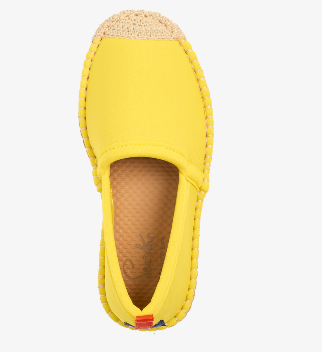 Kids Beachcomber Espadrilles - Citrine - Sea Star Beachwear