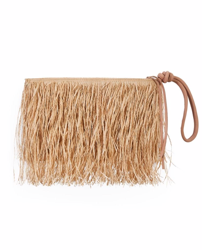 Buriti Straw Clutch