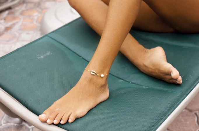 Mini Shell Anklet - Gold