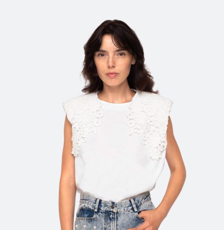 SEA-New York - Zandra Tee - White