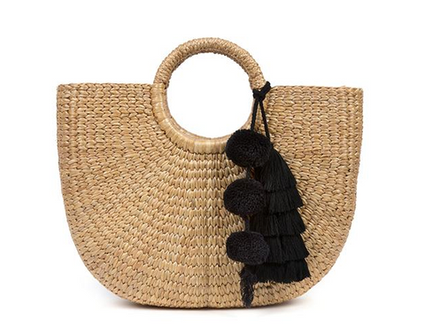Daniela Bag in Straw Yellow - Serpui