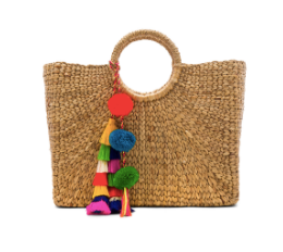 Bela Shell Wicker Bag