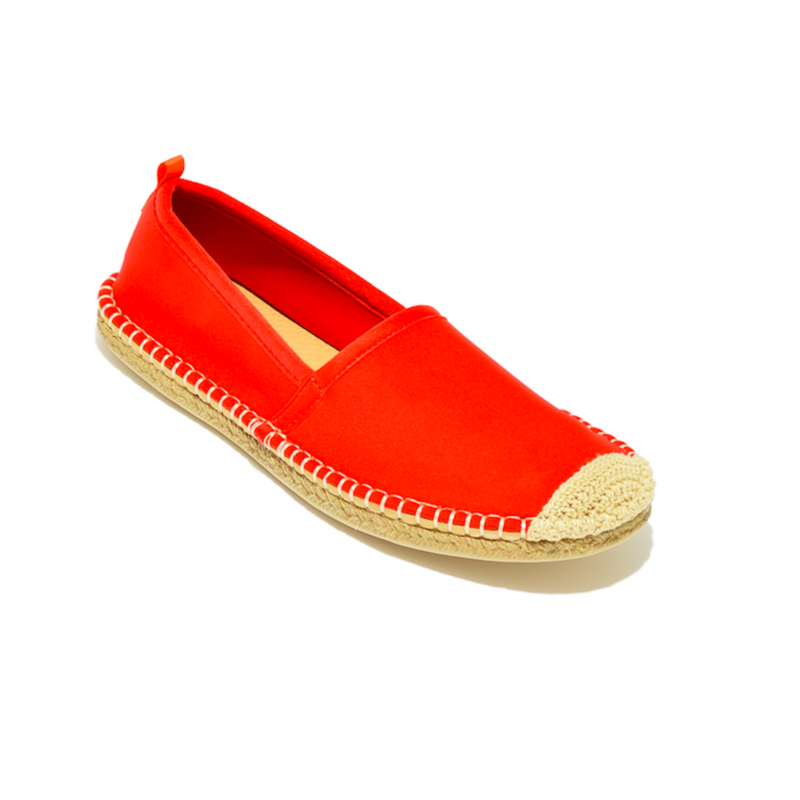Sea Star Beachwear Beachcomber Espadrille: Women's Lighthouse Red