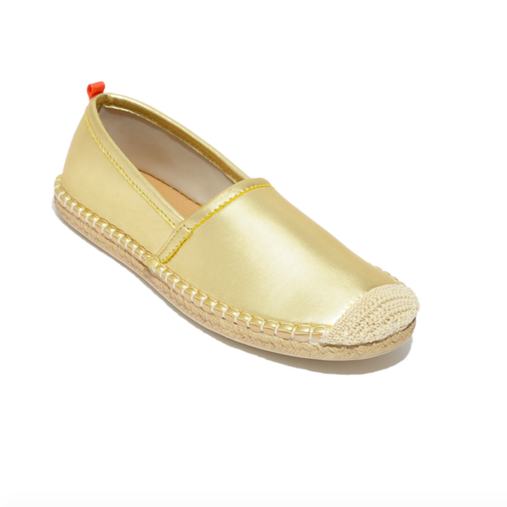 Sea Star Beachwear Beachcomber Espadrille: Women's Gold