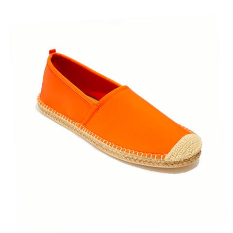 Men's Beachcomber Espadrille: Navy/White Microstripe