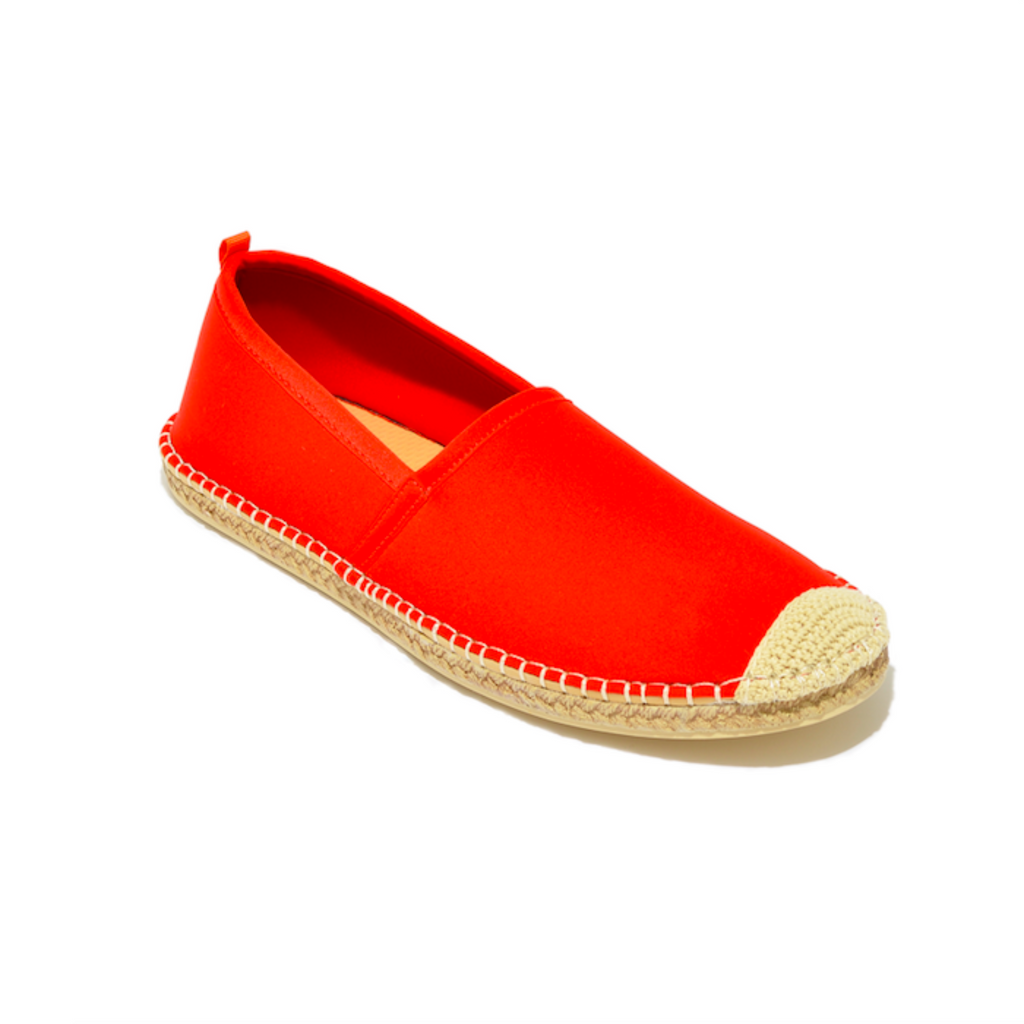 Men's Sea Star Beachwear Beachcomber Espadrille: Lighthouse Red