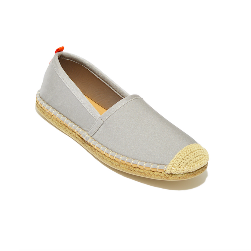 Sea Star Beachwear Beachcomber Espadrille: Women's Pearl Grey
