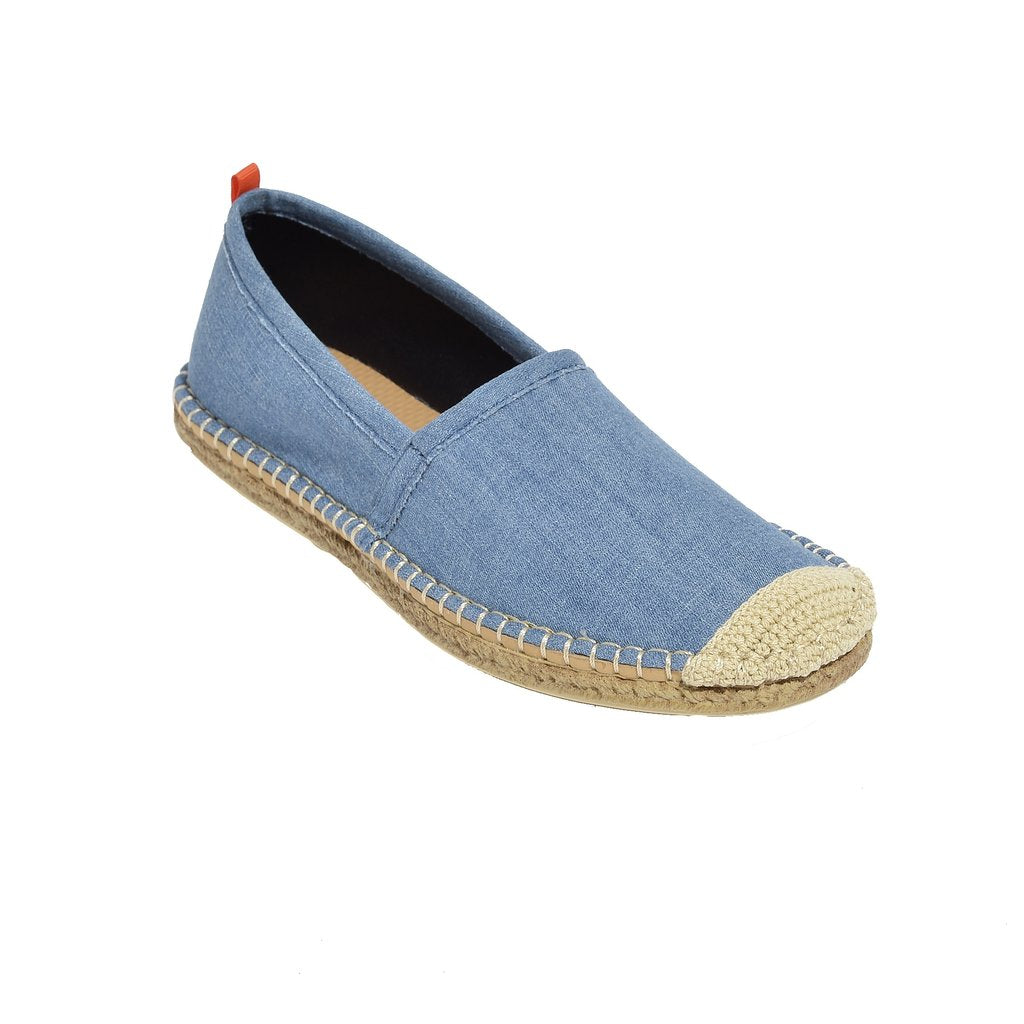 Women's Beachcomber Espadrille: Light Denim