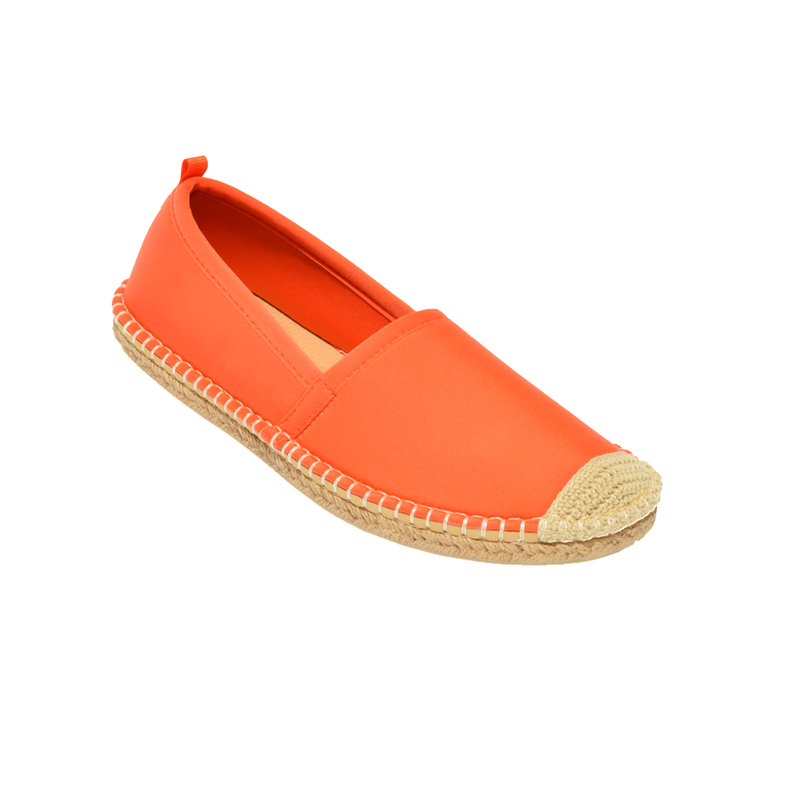 Women's Beachcomber Espadrille: Orange