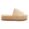 Kids Beachcomber Espadrille: White Gold