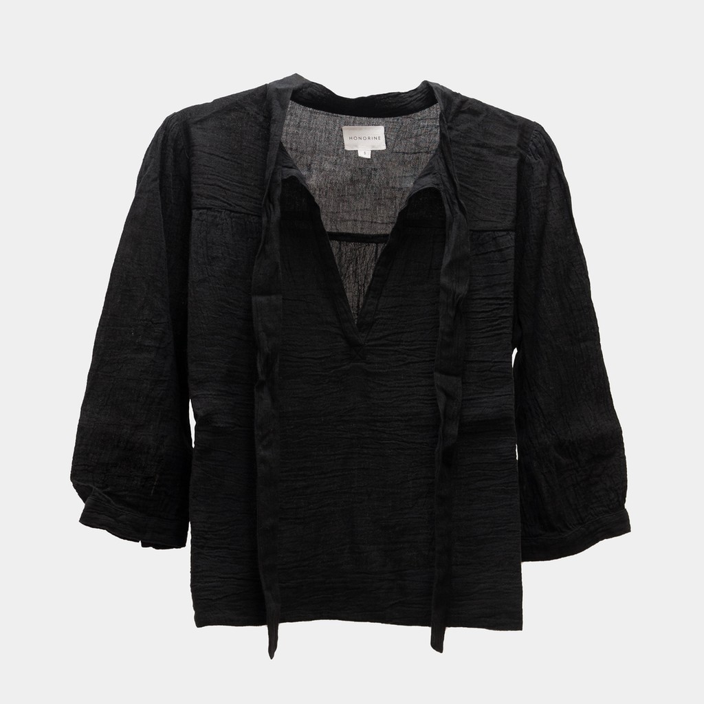 """Sam"" Black Blouse"