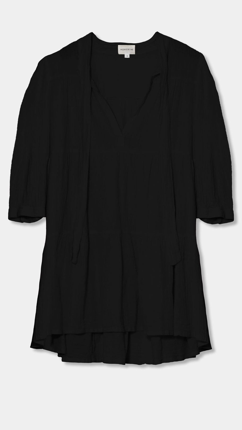 """Giselle"" Short Black Dress"