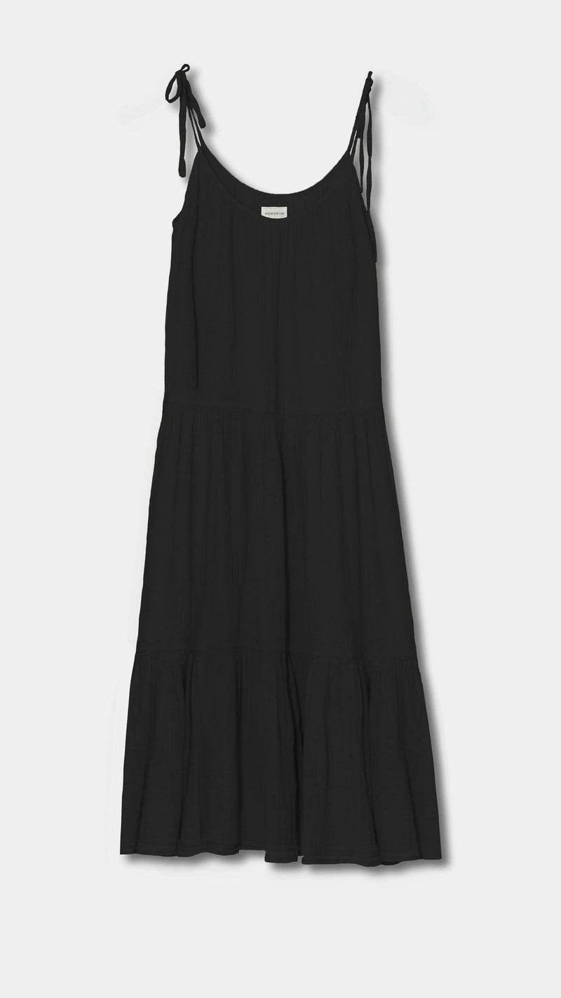 """Daisy"" Black Dress"