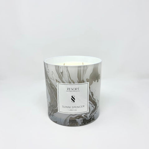 "Sunni Spencer ""Starlight"" Black Classic Candle"