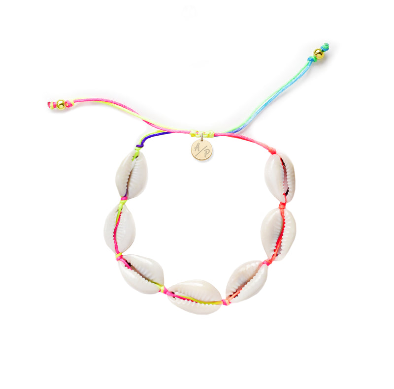 Adriana Pappas - Mini Natural Shells Bracelet - Rainbow