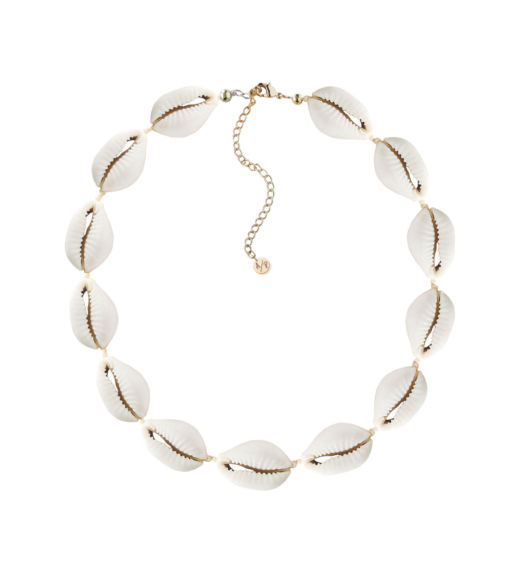 Natural Puka Shell Choker
