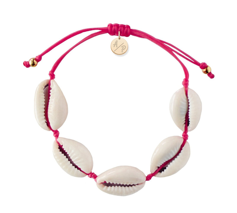 Natural Puka Shell Adjustable Bracelet
